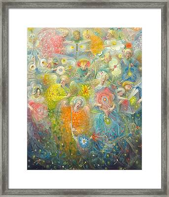 Daydream After The Music Of Max Reger Framed Print by Annael Anelia Pavlova