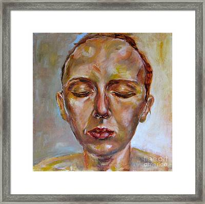 Daydreaming Framed Print by Iglika Milcheva-Godfrey