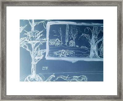 Daydreams Of My Inagination Framed Print by Kevin Powell