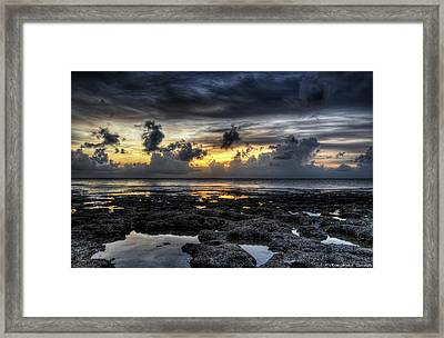 Days End Framed Print by Ryan Wyckoff