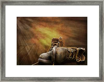 Day's End Framed Print by Trudy Wilkerson