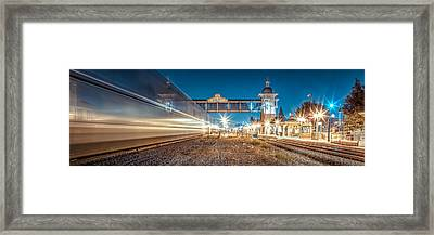 Days Go By Framed Print by TC Morgan
