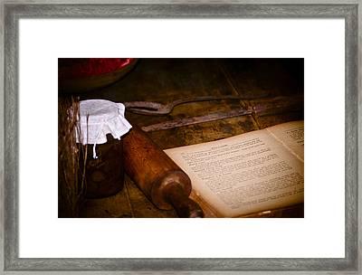 Days Gone By Framed Print by Carolyn Marshall