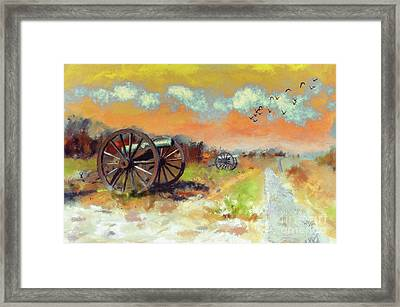 Days Of Discontent Framed Print by Lois Bryan