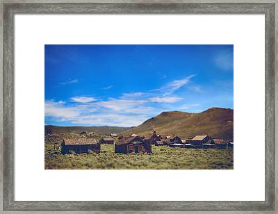 Days Of Old Framed Print by Laurie Search
