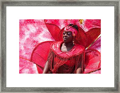 Dc Caribbean Carnival No 18 Framed Print by Irene Abdou