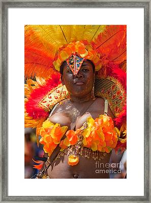 Dc Caribbean Carnival No 23 Framed Print by Irene Abdou