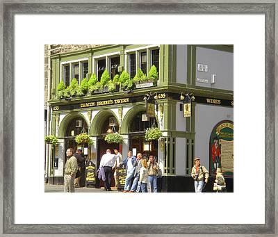 Deacon Brodie's Tavern Framed Print by Susan Lafleur
