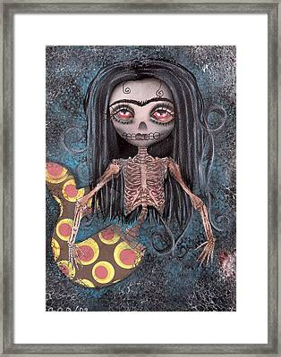 Dead In The Flesh Framed Print by  Abril Andrade Griffith
