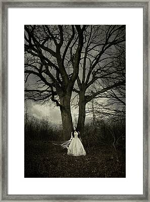 Dead Tree Framed Print by Cambion Art