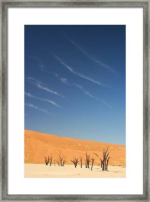 Dead Vlei Framed Print by Jennie ML Ossentjuk