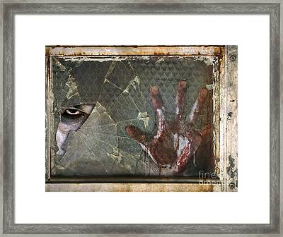 Dead Window Framed Print by Jt PhotoDesign
