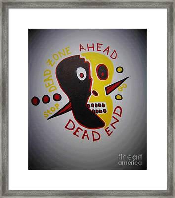 Dead Zone  Framed Print by Lisa Kleiner