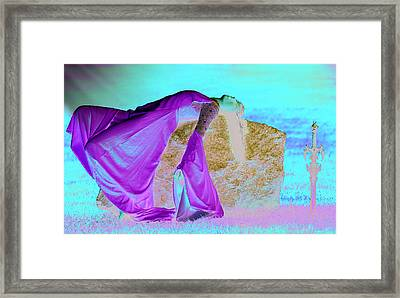Death Of An Elf Framed Print by Dean Bertoncelj