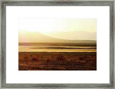 Death Valley - A Natural Geologic Museum Framed Print by Christine Till