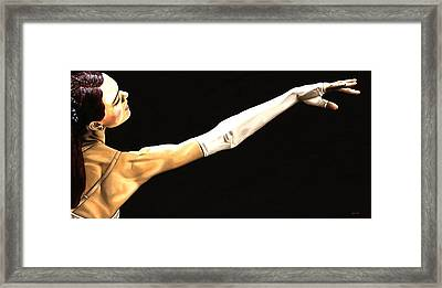 Deathly Seduction Framed Print by Richard Young