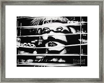 Deborah Harry Framed Print by Brian Curran