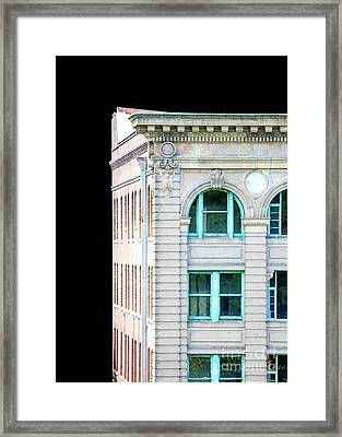 Decadent Old Building 2 Framed Print by Ronald and Nancy