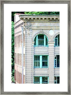 Decadent Old Building  Framed Print by Ronald and Nancy
