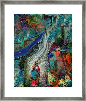 Decisions Framed Print by Patricia Motley