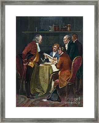 Declaration Committee Framed Print by Granger