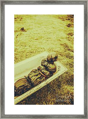 Decomposition Of A Murder Mystery Framed Print by Jorgo Photography - Wall Art Gallery