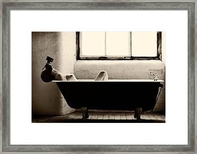 Decontamination Framed Print by Paul
