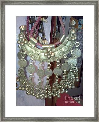 Decoration Piece Framed Print by Dinesh Rathi
