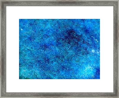 Deep Blue #1 Framed Print by Adrienne Martino