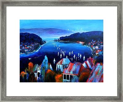 Deep Blue Day Framed Print by Jeremy Holton