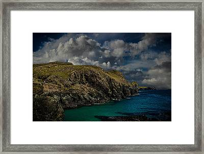 Deep Blue Framed Print by Martin Newman