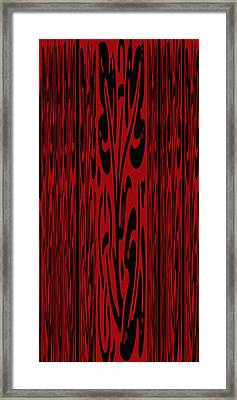 Deep Red Abstract Framed Print by Aimee L Maher Photography and Art Visit ALMGallerydotcom