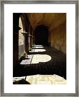 Deep Shadows Framed Print by Mexicolors Art Photography
