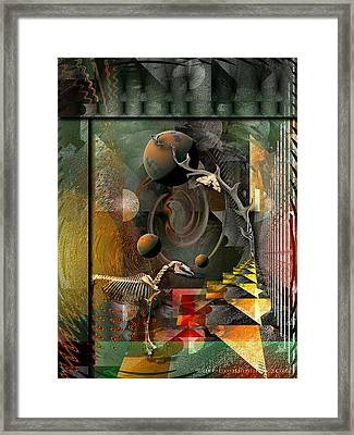 Deep Soul Journey Framed Print by Mimulux patricia no