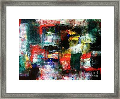Deep Thought Framed Print by Chris Brightwell