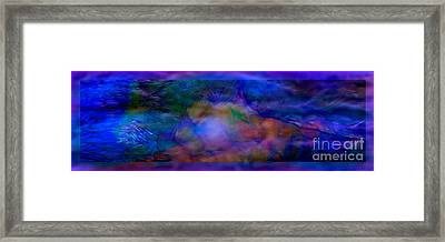 Deep Waters Framed Print by Glenyss Bourne