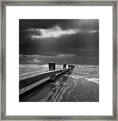 Defensive Framed Print by Meirion Matthias