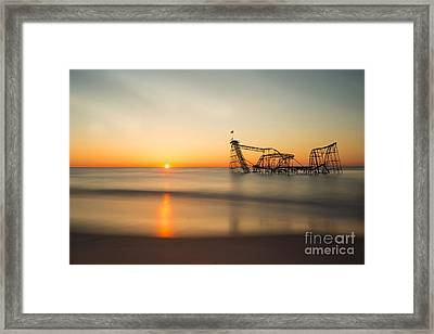 Defining Moment Framed Print by Jo Hendley