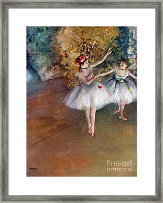 Degas: Dancers, C1877 Framed Print by Granger
