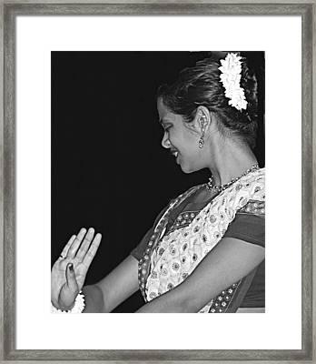 Degas Loves This Framed Print by Vijay Sharon Govender