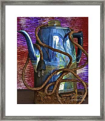 Deja Brew Framed Print by Gwyn Newcombe