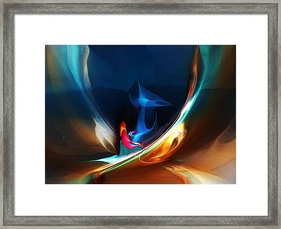 Deja Vu Framed Print by David Lane