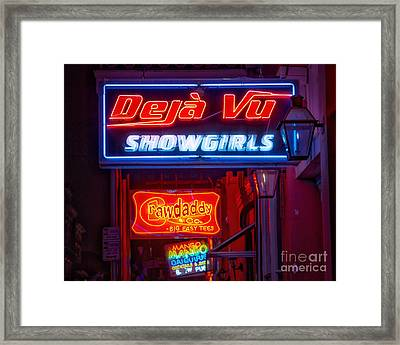 Deja Vu Showgirls Framed Print by Jerry Fornarotto