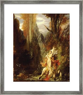Dejanira  Autumn Framed Print by Gustave Moreau
