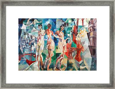Delaunay: City Of Paris Framed Print by Granger