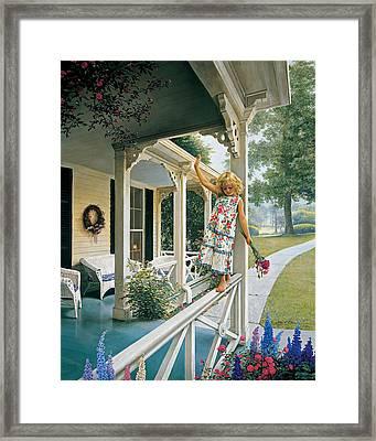 Delicate Balance Framed Print by Greg Olsen