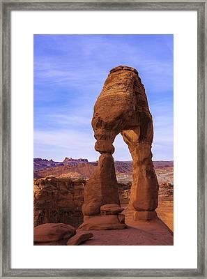 Delicate Landmark Framed Print by Chad Dutson