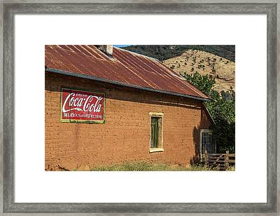 Delicious And Refreshing Framed Print by Peter Tellone