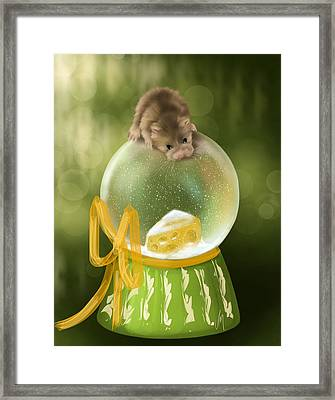 Delicious... Framed Print by Veronica Minozzi