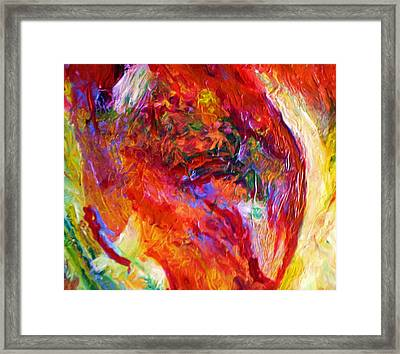 Delight Framed Print by Michael Durst